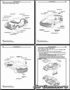 best car repair manuals 1995 toyota paseo instrument cluster кузовные размеры toyota paseo el44 1992 1995 collision repair manual