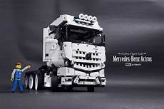 moc mercedes actros 8x4 tractor lego technic