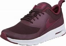 nike air max thea txt w shoes maroon