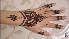Gambar Lengkap Henna Simple Tutorial Untuk Anda