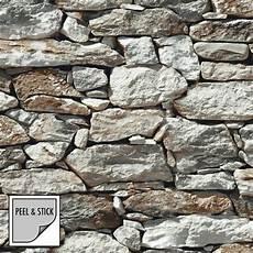 stein tapeten selbstklebende tapeten real stones 125571 stein imitat