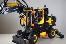 lego technic volvo ew160e 42053 review brick digest