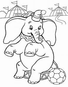 page elephant coloring pages