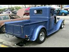 ford up 1934 ford truck blue