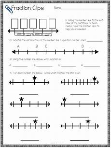 fraction worksheets on a number line 4045 teaching number line fractions with a freebie the owl