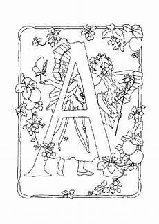 lettere d scritte coloriage alphabet fee a sur hugolescargot