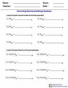 decimals worksheets math aids 7056 number systems worksheets dynamically created number systems worksheets
