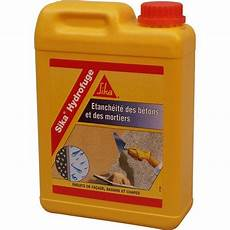 hydrofuge pour mortier sika 2 l blanc leroy merlin