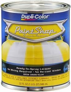 dupli color bsp206 chrome yellow paint shop finish system