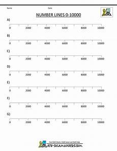 place value number line worksheets 5184 integer number line number line printable number line integer number line