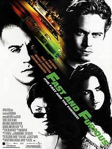 affiche fast and furious fast furious 2001 allocin 233