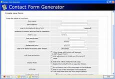 contact form generator free download and software reviews cnet download com
