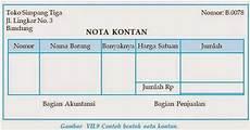 contoh surat pengeluaran atau faktur surat 0