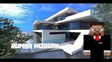 Minecraft Rumah Modern 1