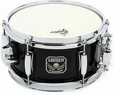 mini snare drum gretsch drums blackhawk mighty mini snare drum 5 5 quot x 10 quot sweetwater