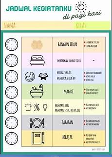 Contoh Jadwal Harian Anak Homeschooling Rutinitas Pagi