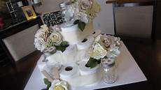 diy bridal shower cake diy bridal shower cake youtube