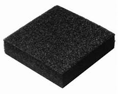 black rigid polyethylene foam