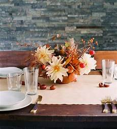 casual fall wedding floral centerpiece once wed
