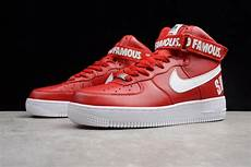 nike air 1 supreme supreme x nike air 1 high red for sale new