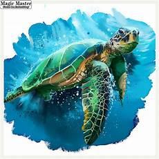 100 full diy 5d diamond painting sea turtle cross stitch diamond embroidery patterns