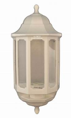half lantern wall light white asd hl wk060 half lantern wall light fitting white fin874 ebay