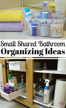 Bathroom Ideas Organizing by Small Bathroom Organizing Ideas Organize A Small Shared
