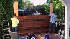 sichtschutz mauer garten diy privacy fence lowe s hypermade