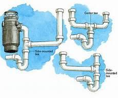 Kitchen Sink Plumbing Diagram by Kitchen Sink With Garbage Disposal Plumbing Diagram
