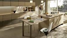 ilot central table coulissante ilot central cuisine avec table escamotable 2 cuisine
