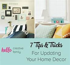 home design tips and tricks 7 tips and tricks for updating home decor hello creative family