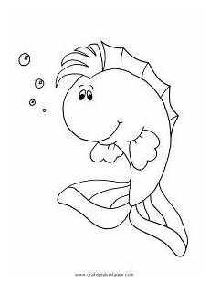 verschiedene fische 123 gratis malvorlage in fische tiere