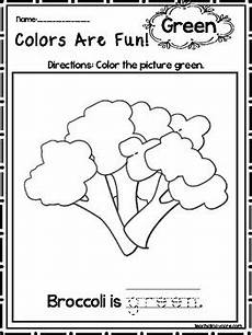 color green worksheets for preschool 12861 15 green colors are printable worksheets preschool kdg color recognition