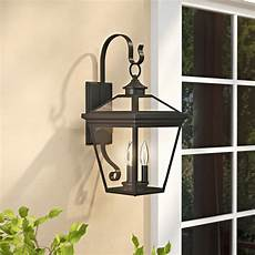 darby home co coleg 3 light outdoor wall lantern reviews