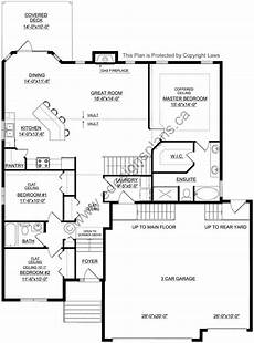 bi level house plans with garage bi level plan 2016929 in 2020 how to plan garage design