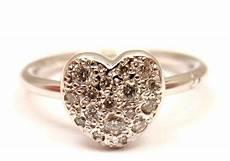 anello pomellato cuore gorgeous pomellato dodo cuoricini 18k white gold 20 ctw
