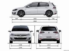 2014 Volkswagen Golf 7 Gtd Dimensions Hd Wallpaper 31