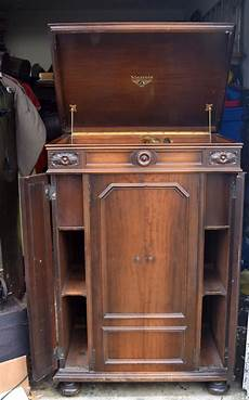 credenza for sale orthophonic credenza with brass reproducer for sale