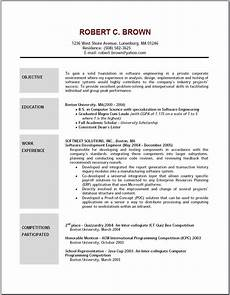 resume objective statement top within basic sle career