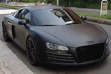 Audi R8 Black Matte Lamborghini Voitures Audi Et