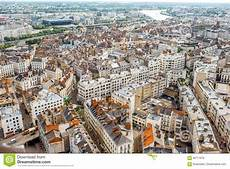 Aerial View On Nantes City In Stock Photo Image