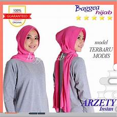 Jilbab Instan Untuk Pipi Voal Motif