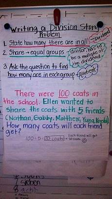 writing multiplication stories worksheets 22273 steps to write a division story problem teaching math elementary math teaching to