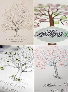 try a fingerprint tree for an alternative wedding guestbook idea onefabday com uk