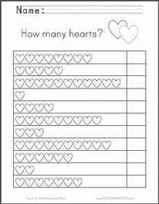 s day worksheets grade 1 20359 hearts counting worksheet great for s day free to print pdf grades k 1