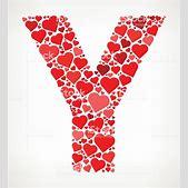 Letter Y Icon W...