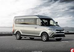Future Cars Streamlining Ford's 2019 Transit Full Sized