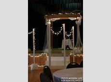 Remodelaholic   Easy DIY Light Stands for String Lights