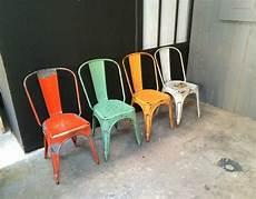ensemble de 4 chaises tolix mod 232 le a