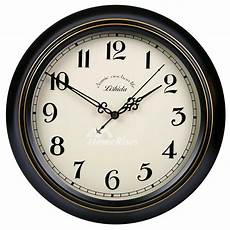 retro wall clock decorative silent hanging 14 16